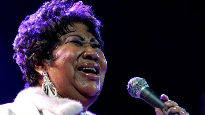 Aretha Franklin in 2008