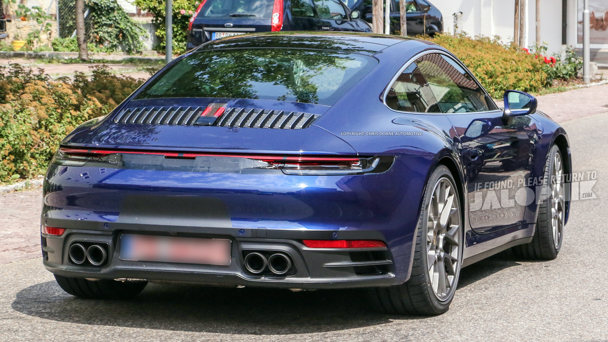 2020 Porsche 911 Here It Is Way Before You Re Supposed To See It