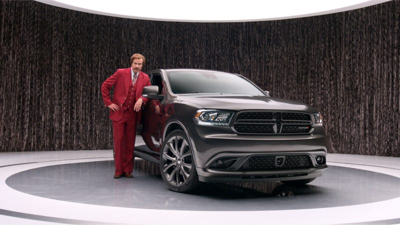 Illustration for article titled Ron Burgundy Anchors New 2014 Dodge Durango Advertising Campaign