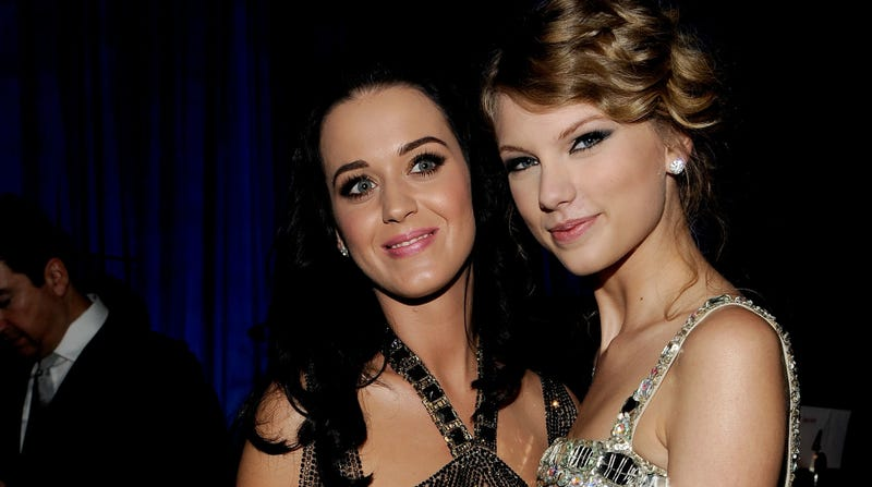 Illustration for article titled Katy Perry Reminds Us Again That She's Okay with Taylor Swift Now