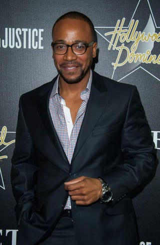 Columbus Short arrives at a pre-Oscars Hollywood Domino Gala & Tournament at Sunset Tower Hotel in West Hollywood, Calif., Feb. 27, 2014.Valerie Macon/Getty Images