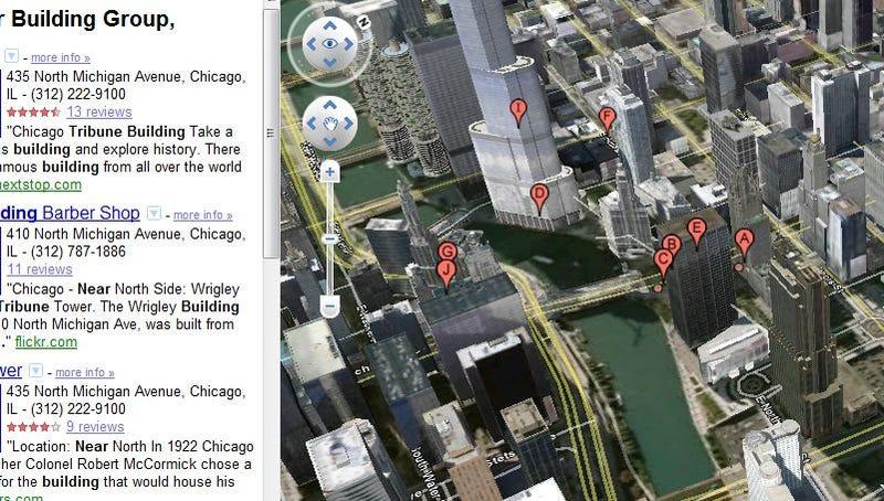 Illustration for article titled Google Earth Arrives Inside Google Maps on the Web