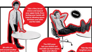 Illustration for article titled Adopt One of These Postures To Reduce Stress and Build Confidence