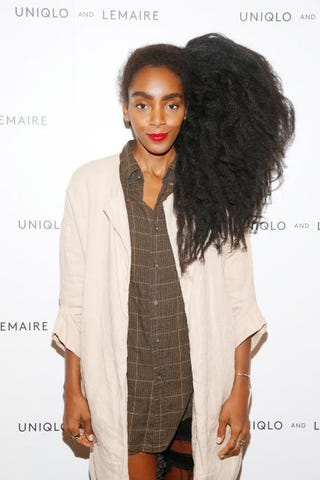 Blogger Cipriana Quann of Urban Bush Babes attends the Uniqlo and Lemaire preshopping event at Uniqlo on Oct. 1, 2015, in New York City. Brian Ach/Getty Images for Uniqlo and Lemaire