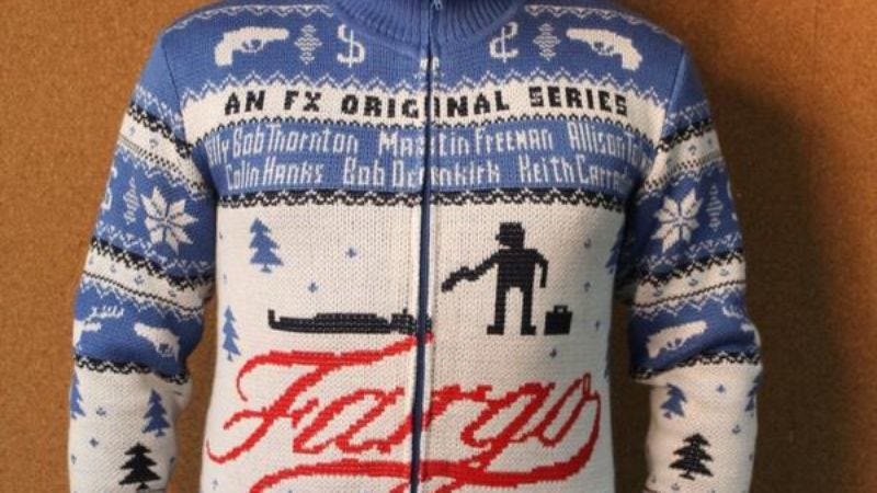 Illustration for article titled In victory for literalism, someone actually knitted the Fargo sweater