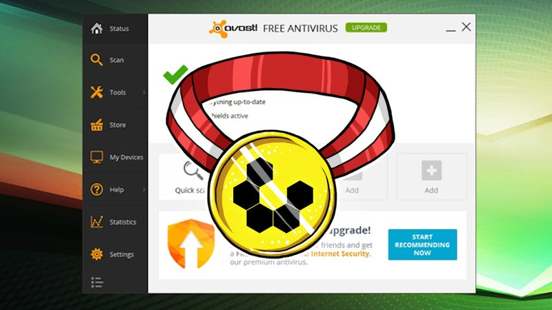 Illustration for article titled Most Popular Desktop Antivirus Application: Avast! Free Antivirus