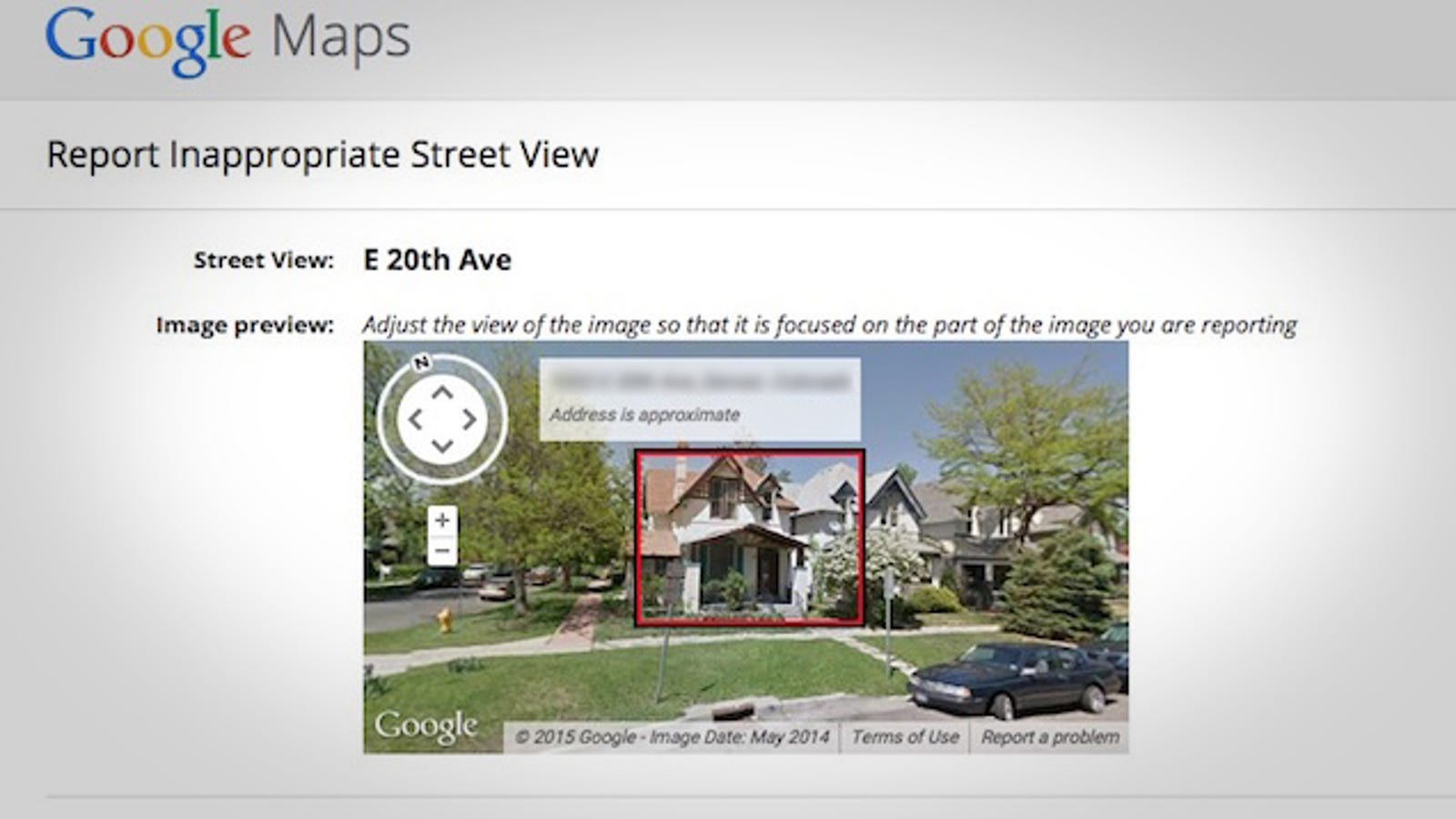 How to Hide Your House from Google Street View