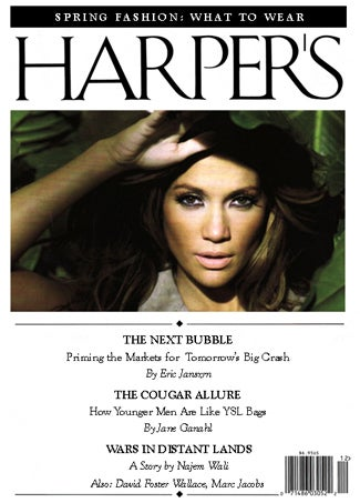 Illustration for article titled The Harper's (Bazaar) Index: J. Lo's Diamonds, Giuliani, And The 'Cougar Allure'