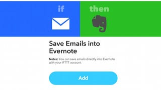 Illustration for article titled Get Evernote's Email to Evernote Feature Back for Free with IFTTT