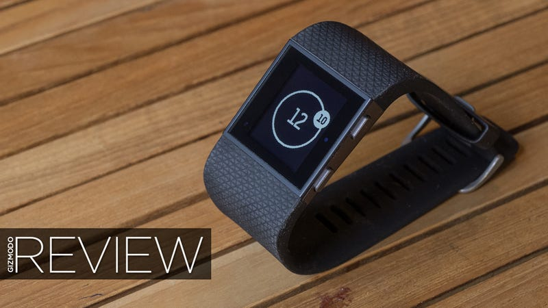 Illustration for article titled Fitbit Surge Review: If Only This Was Actually a Smartwatch