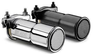 Illustration for article titled Blade Exhaust Filters: An Eco-Friendly Gadget That Actually Makes Your Car Look Cooler