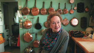 Illustration for article titled Organize Your Kitchen Like Julia Child, With a Place for Every Pan