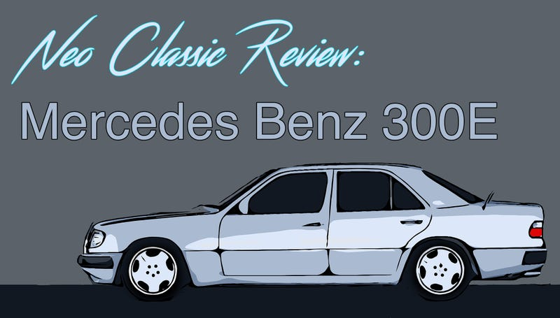 Illustration for article titled Analog Adventures in a 1992 Mercedes 300E : Neo Classic Review