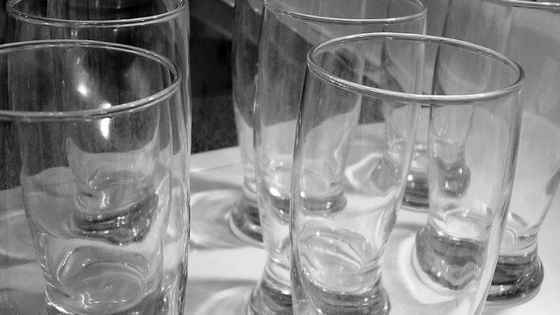 Clean Your Dull, Cloudy Drinking Glasses with Vinegar
