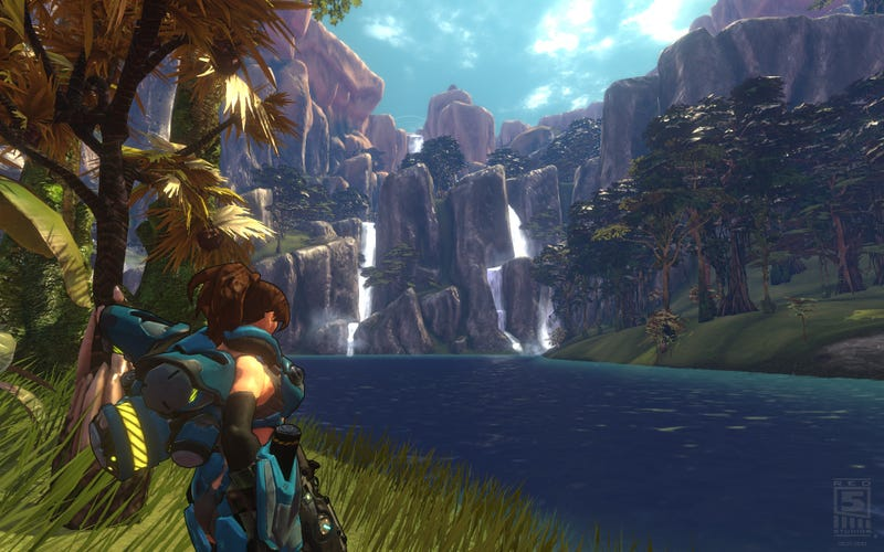 Illustration for article titled It's A Topsy-Turvy World, Because Firefall Is Going To Be Free