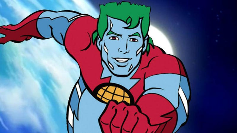 Illustration for article titled Leonardo DiCaprio Is Making a Movie About an Old, Washed-Up Captain Planet