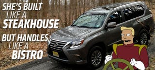 Illustration for article titled 2014 Lexus GX 460: The Truck Yeah! Review