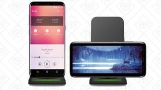 Soporte de carga inalámbrica Qi | $16 | Amazon | Usa el código U2DTPOJV
