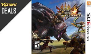 Illustration for article titled $10 Off Your Monster Hunter 4 Preorder, Razer Naga Epic, More Deals