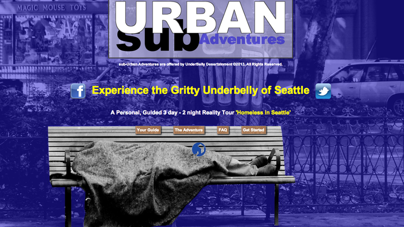 Illustration for article titled 'Gritty' Homelessness Tour Guarantees Unforgettable Adventure
