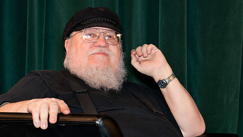 George RR Martin Announces