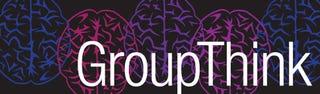 Illustration for article titled GroupThink logo ideas