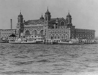 Ellis Island's Immigrant Landing Station, Feb. 24, 1905Library of Congress via the American Heritage website