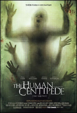 Illustration for article titled First Trailer From Horrific Human Centipede Makes Us Queasy