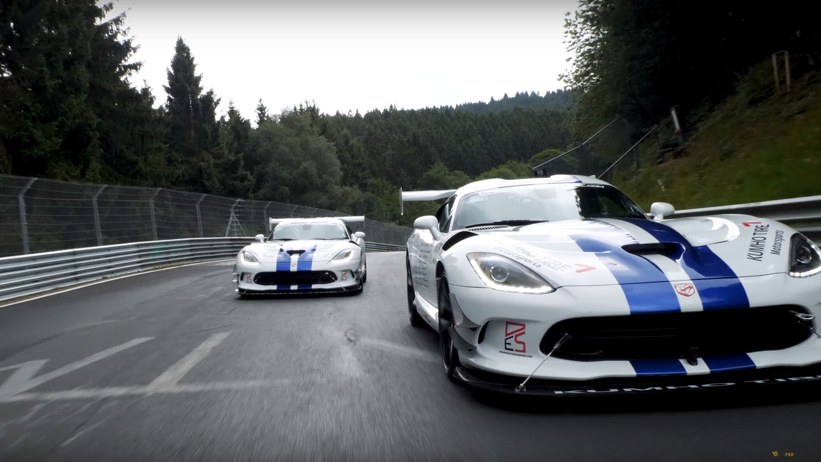 Over The Summer, Some Folks Got Together An Attempt To Set A Privately  Sponsored Nürburgring Lap Record In A Dodge Viper ACR. They Wanted To Give  The Car A ...