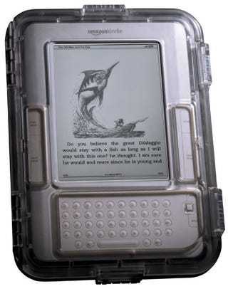 Illustration for article titled Guardian Waterproof Case Allows Me to Get My Kindle Wet