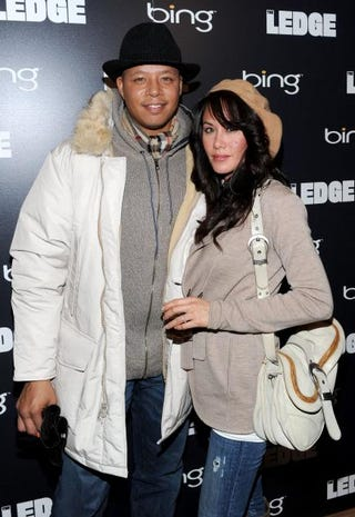 Terrence Howard and his then-girlfriend, now ex-wife, Michelle Howard, in 2011Michael Buckner/Getty Images
