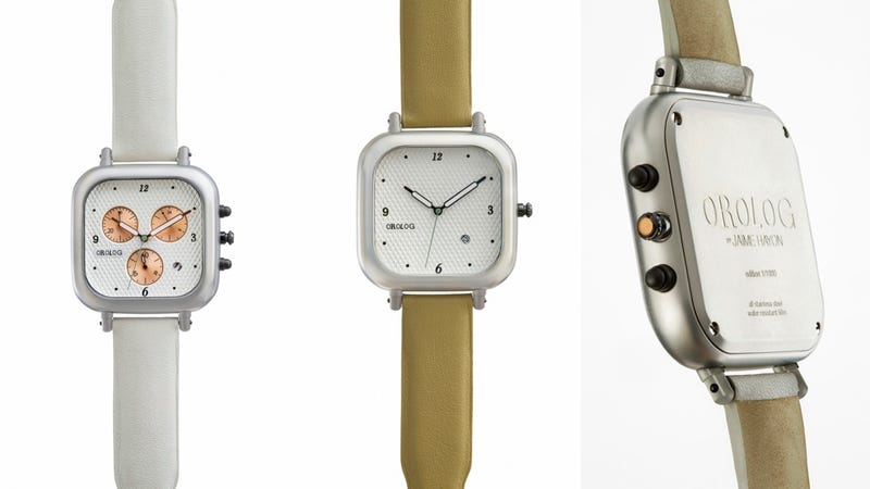 Illustration for article titled These Swiss Wrist Watches Are Contemporary, Classic, and Utterly Crave-able