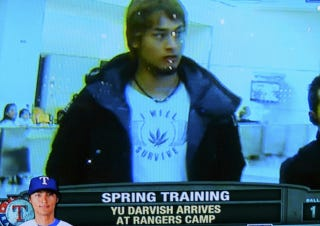 Illustration for article titled Yu Darvish May Have Just One T-Shirt But It's A Homage To Weed, So Whatever [Update]