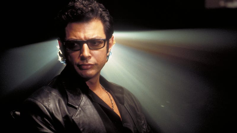 Jeff Goldblum stars in Jurassic Park