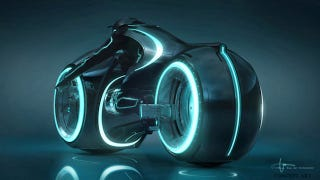 Illustration for article titled How Tron: Legacy Light Cycle Designers Made the Sexiest, Coolest Vehicle Ever