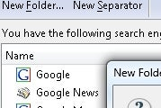 Illustration for article titled Put Search Plug-ins into Folders with Organize Search Engines