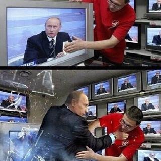 Illustration for article titled Unsurprisingly, Putin defends PRISM. USSA!