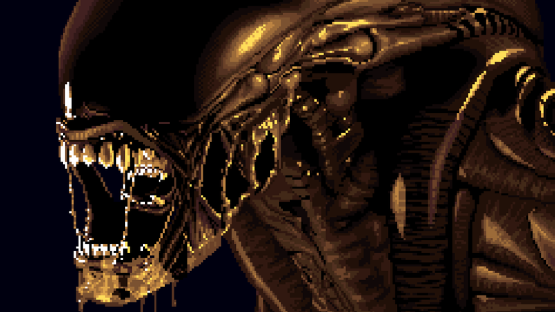 This is from the Alien 3 video game.