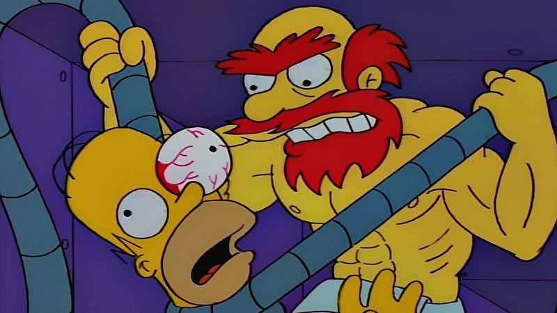 "The Simpsons, ""Lard Of The Dance"""