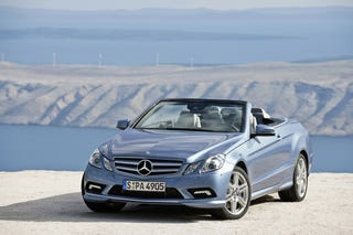 Illustration for article titled 2011 Mercedes E-Class Convertible: First Photos