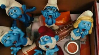 Illustration for article titled Crazy Email of the Week: Watch Out, Smurfs!