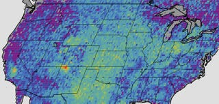 Illustration for article titled The Southwest Has a Methane Hotspot as Big as Delaware