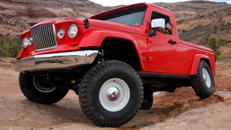 Illustration for article titled Jeep J12 Concept: First Drive