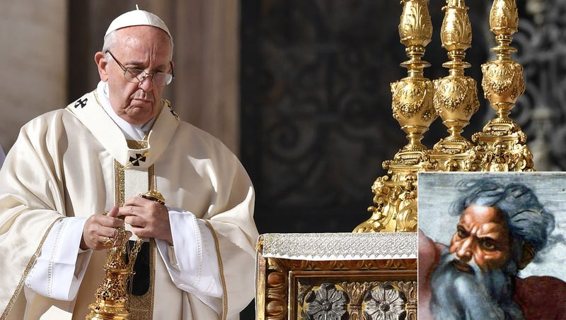 Illustration for article titled Pope Beatifies God In Important Step Toward Sainthood