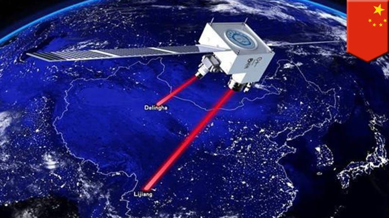 China Tests First Space-Ground Quantum Communication Network