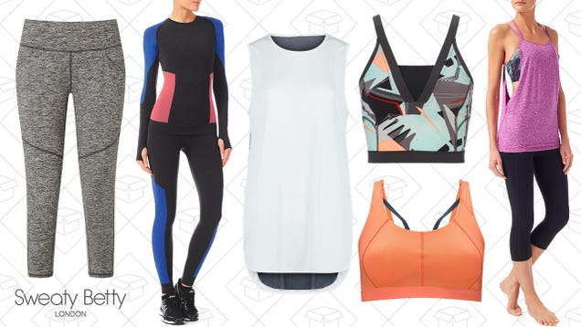 Sweaty Betty May Sound Weird, But Discounted Workout Gear Definitely Isn t