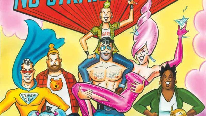 Illustration for article titled A history of gay comics highlights this month's graphic novels and art-comics