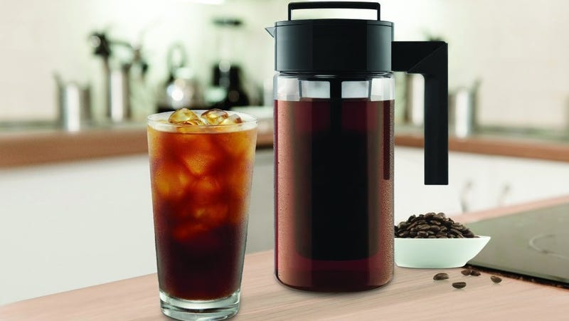 Takeya Deluxe Cold Brew Iced Coffee Maker | $17 | Amazon | Clip the $2 off coupon