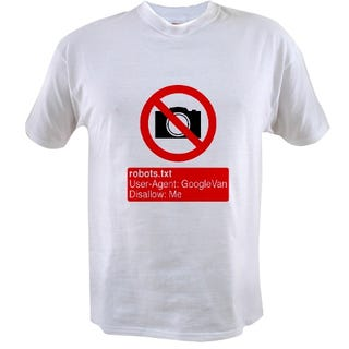 Illustration for article titled Guaranteed Street View Protection With One Simple T-Shirt