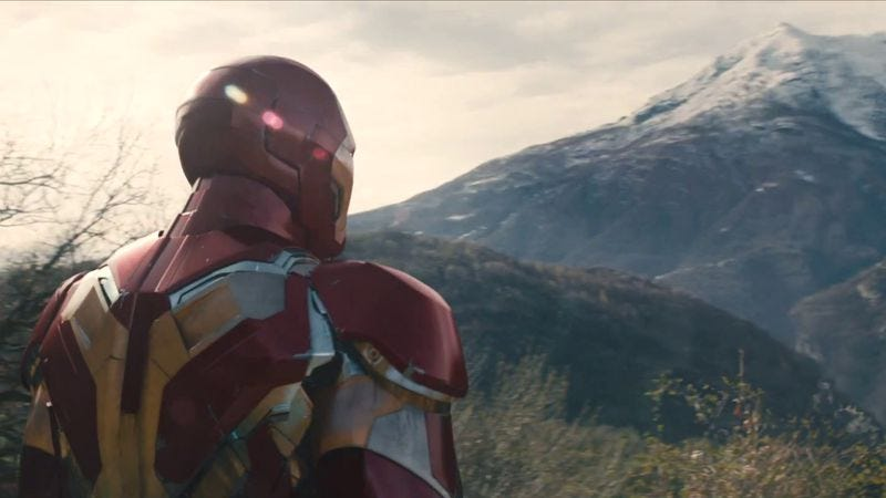 Iron Man sees this mountain as an allegory for Fifty Shades Of Grey, and it must be climbed
